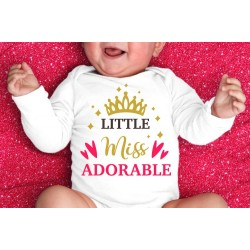 """Body """"Little Miss Adorable''"""