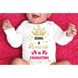 """Body """"Being a princess is exhausting''"""