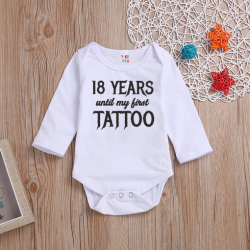 Body ''18 years until my first tattoo''