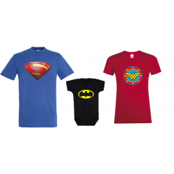 Set familie Super Heroes