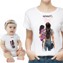 "Set tricou cu body ""Mommy's Girl 2"""